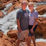 2019-04-26 Kevin & Robyn at Gunlock Falls_0011