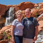 2019-04-26 Kevin & Robyn at Gunlock Falls_0001
