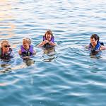 Anita, Robyn, Carol & Carol at Maggie's Cove (Padre Bay)
