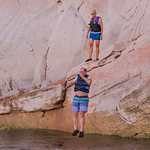 Kevin & Robyn Cliff Jumping (Navajo Canyon)