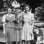 1941c Lois, Beth & Carol Rae