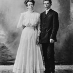 1908-12-16 George & Rose Walker Wedding Picture