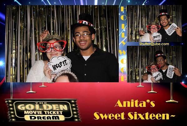 Anita's Sweet 16- 3-24-18 Fresno, TX