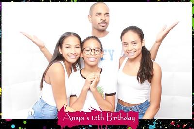 Aniya's 13th