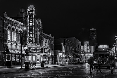 Michigan and State Theaters, Ann Arbor Michigan
