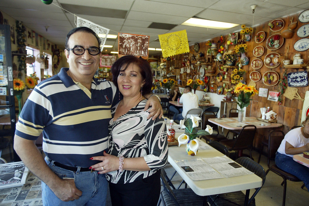 . Jorge and Arecelia Rivas at Fiesta Tepa-Sahuayo. (Bill Lovejoy -- Santa Cruz Sentinel file)