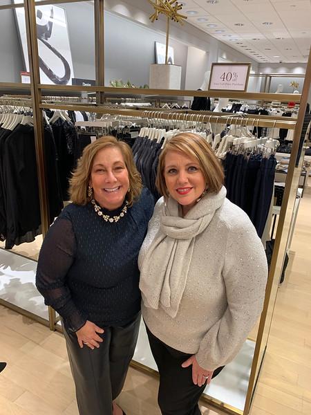 Dana Regan of Newburyport and Manager Susan DeProfio of Lowell