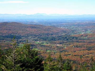 Anna's pictures from the hike to the Mount Manfield, Vermont's highest point.