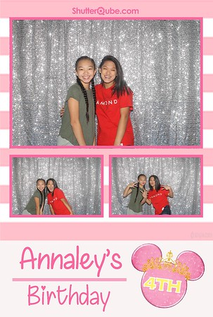 Annaley's 4th Birthday - Katy, TX - 09-29-18
