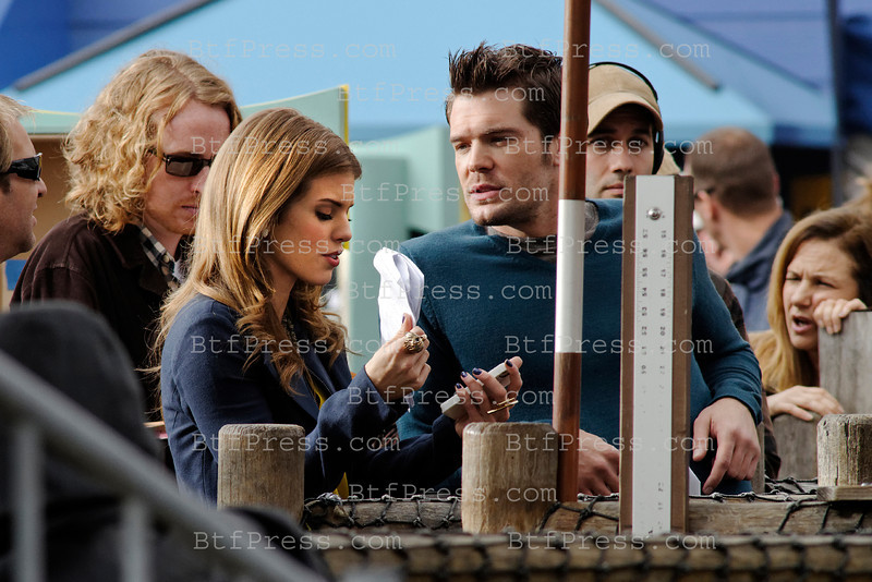 "AnnaLynne McCord during the set of the Serie ""90210"" at the Santa Monica pier in Santa Monica,California."