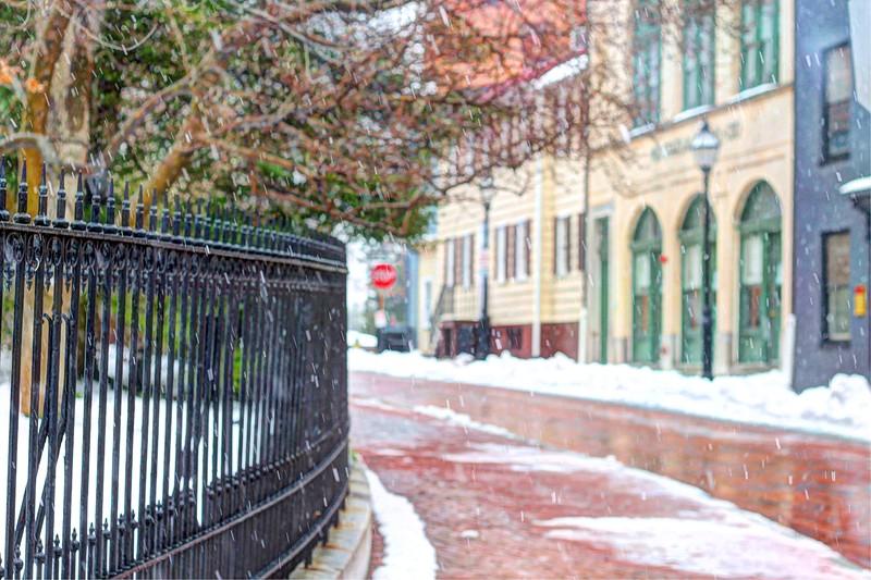 Snow in Naptown Jan 2014
