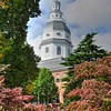 Maryland State House in Spring