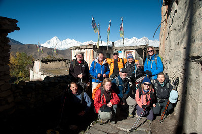 Annapurnas + Lower Mustang Trek 2013