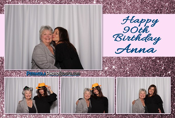 Anna's 90th Birthday Party 12-16-2016