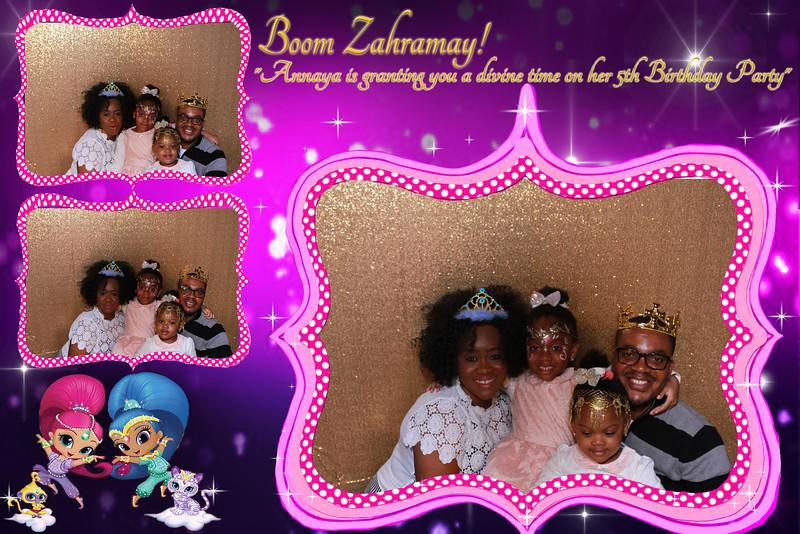 Annaya's Shimmer & Shine BIRTHDAY PARTY