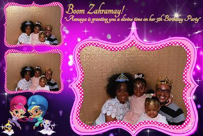 Annaya's Shimmer & shine birthday
