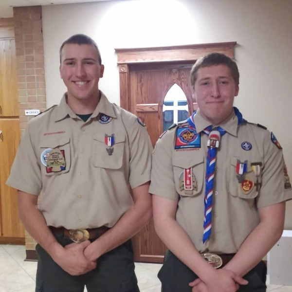 Thomas and Tyler -- Eagle Scout Ceremony