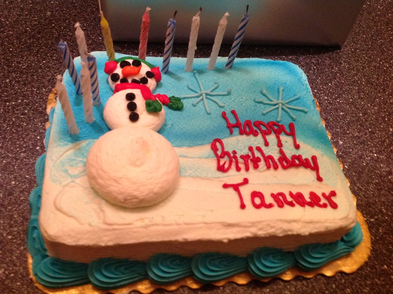 11th Birthday for Tanner!!