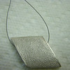 my rhombus, fired and on wire