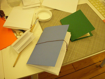 Paper cutting and bookmaking