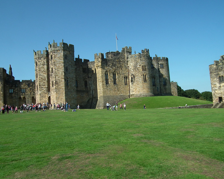 Harry Potter day at Alnwick Castle