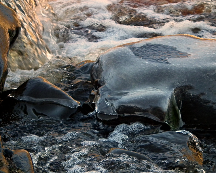 Ice at High Force waterfall