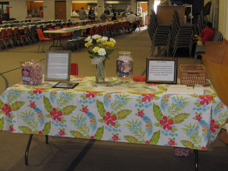 Guest Book table at the enterance