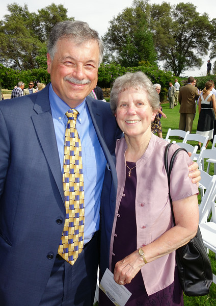 Andre with Sister Judy (She heads Wellspring)