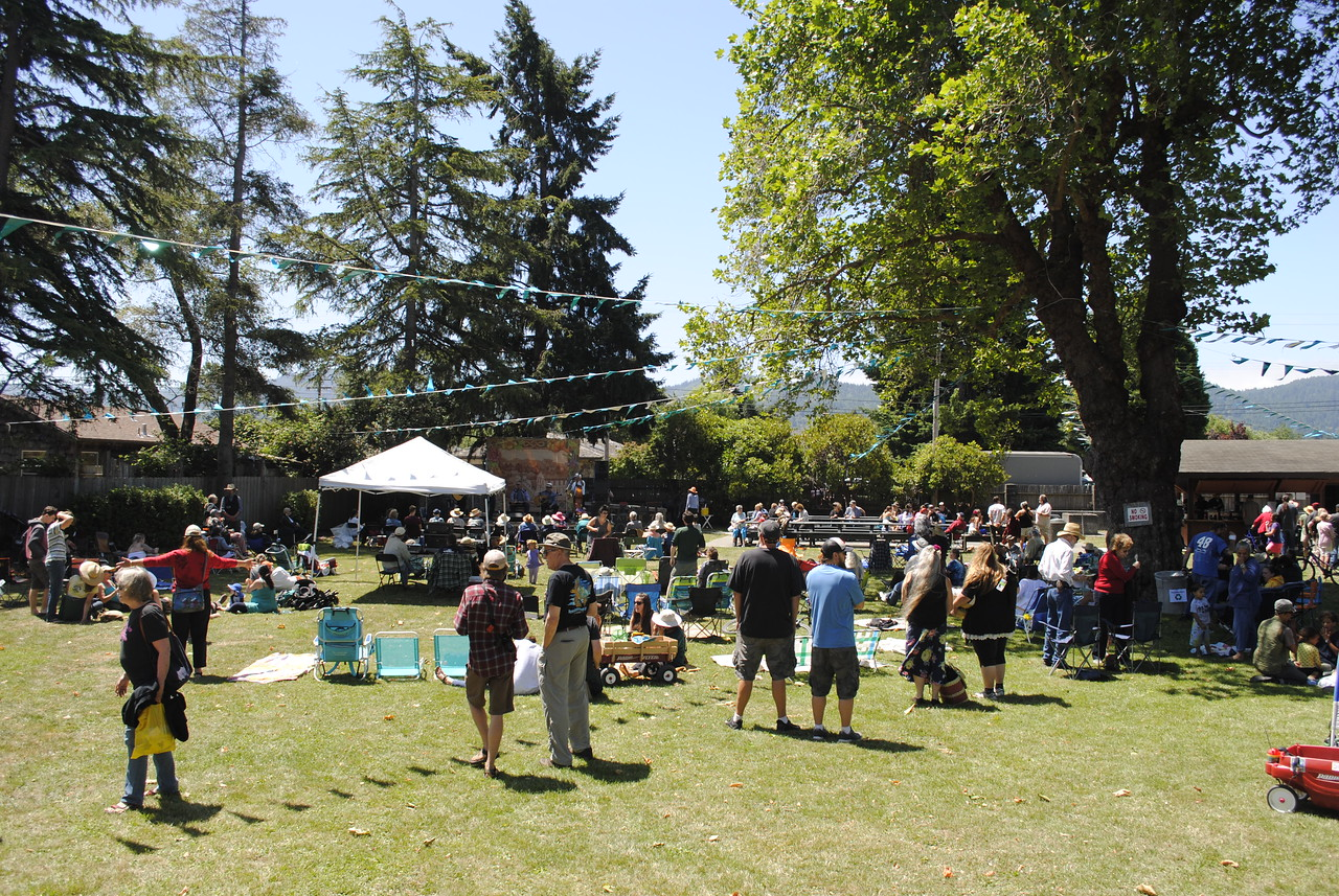 Hundreds attended the Annie and Mary Day celebrations in Blue Lake on Sunday.  (Hunter Cresswell - The Times-Standard)