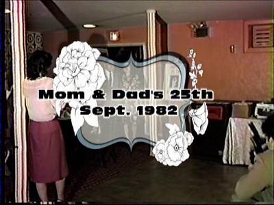 Mom & Dad's 25th Anninversary