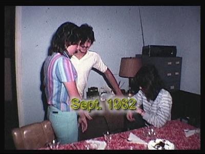 Nancy & Frank's 1st Anniversary 1982