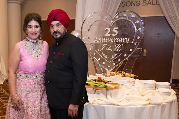 Inder & Kamal 25th Wedding Anniversary