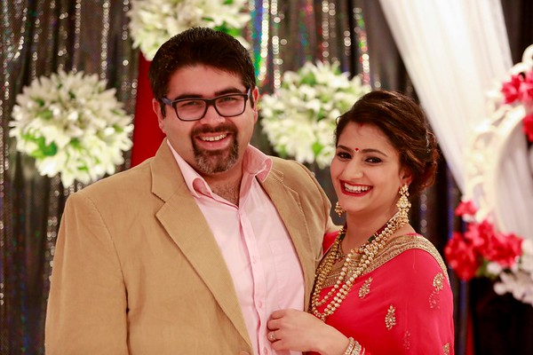 Vaibhav & Shweta 1st Wedding Anniversary