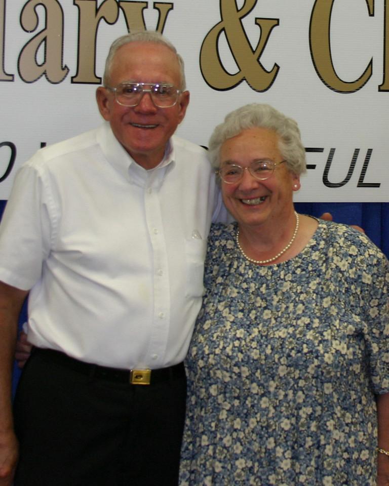Mary and Charles 50th Wedding Anniversary, May 6, 2006.