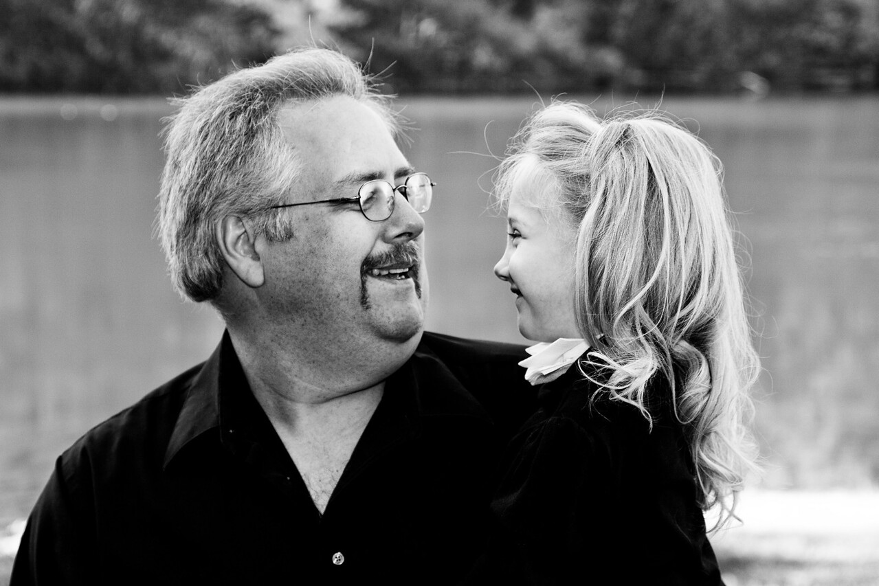 Father and daughter. Can be ordered in 8x10 and smaller.