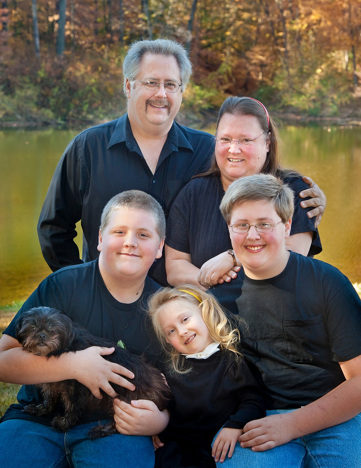 Family. Can be ordered in an 8x10 and smaller.