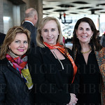 Kathy Brown, Elizabeth Perry Spalding and Susan Lavin.