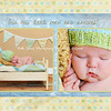 Little Man: 5x7 double sided card (front side or this could be the back). See next image for the back side of this card. All colors are customizable to the color scheme in your images. This can also be printed as a single sided photo card if preferred.