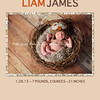 Simply Liam 5x7: shown in tan. All colors are customizable to your images.