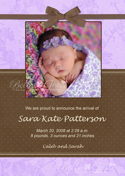 5x7: Sara Kate