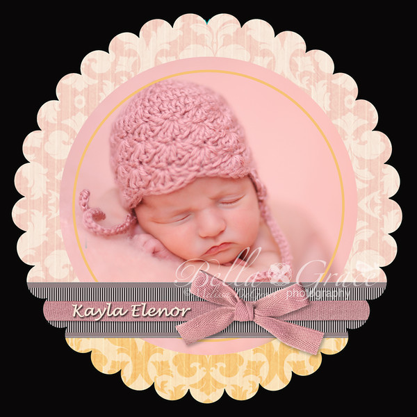 Kayla Luxe Scalloped 5x5 (front of card)