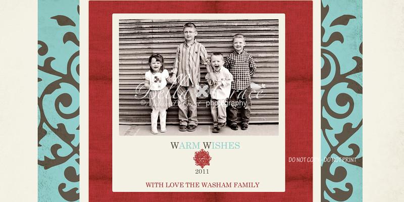 Warm Wishes 4x8