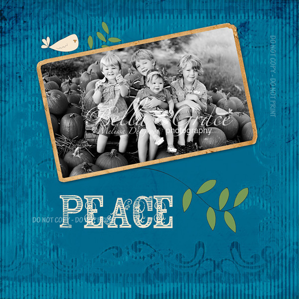 Blue Peace 5x5 (front)