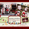 Warm Wishes 5x7. The setup fee for this card is $15 (rather than the normal $10 set up fee) due to the extra time involoved with the added amount of pictures.