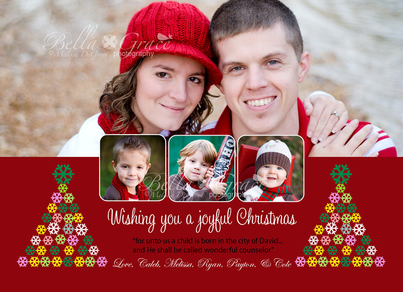 Joyful Christmas: 5x7