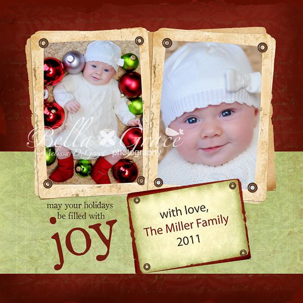 Joy 5x5 (A custom backside can be created for this card)