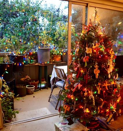 Ann's hand-made Christmas ornaments