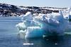 Entering Illulissat, Greenland