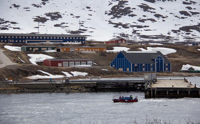 Ivittuut, Greenland.  An abandoned US base.