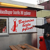 The most popular eating place in Reykjavik - a hot dog stand